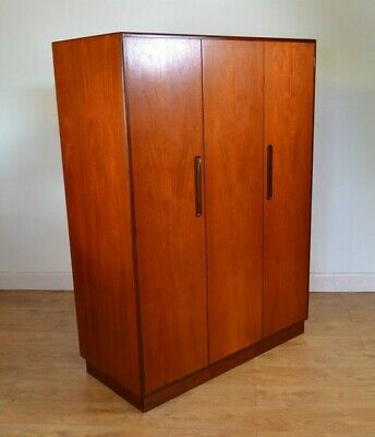 G Plan, Treble Wardrobe, Bi Folding,FRESCO ,Teak, Mid Century, 1960s