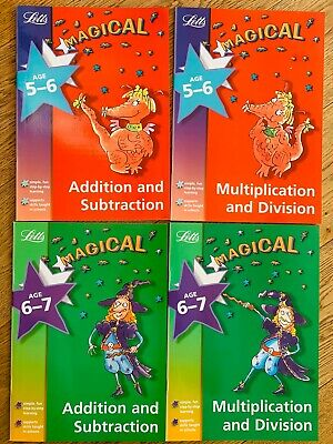 Letts 5-7 (age 5-6, 6-7) Math (addition Subtraction Multiplication Division) KS1