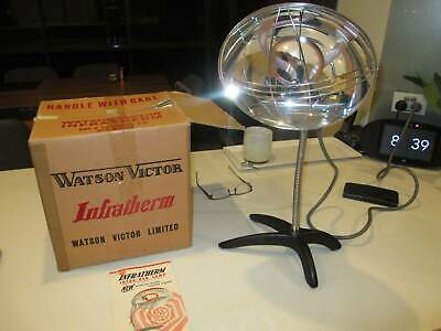 Vintage Watvic Infratherm Heat Lamp - New In Box