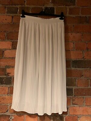 Seed White Pleat Skirt Size 12