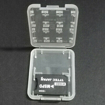 8 Slots Storage Case Box Holder For Micro TF SDHC MSPD Memory Card-PN
