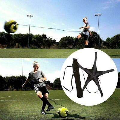 Soccer Football Kick Throw Trainer Solo Practice Training Aid BEST Skill Co C1H3