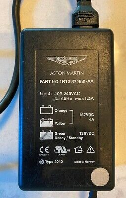 Aston Martin Battery Charger Part:1R12-374631-AA