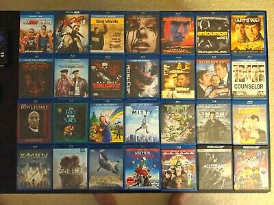 Blu-ray lot ($3 flat rate shipping) Like New!! NEW TITLES ADDED