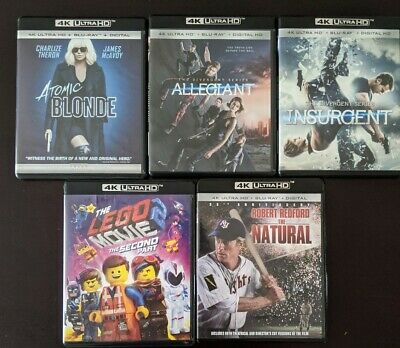 4K Blu-ray lot ($3.00 flat rate shipping on all orders) NEW TITLES ADDED