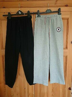 Boys Jogging Bottoms Trousers Converse and Marks and Spencer M&S Age 8 -10
