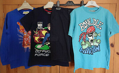 Boys T Shirts and Shorts WeirdFish Ben 10 Moshi Monsters F&F Age 7-8