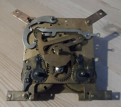 Vintage Clock Movement stamped Foreign 35314 Spare/Repairs