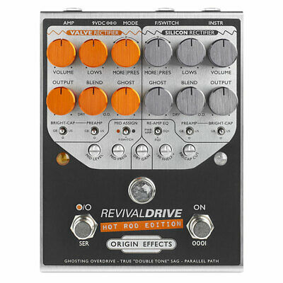 Origin Effects RevivalDRIVE Hot Rod Edition Pedal