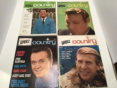 Lot vtg Weez country magazine music Roy Acuff Ernest Tubb Hank Williams Anderson
