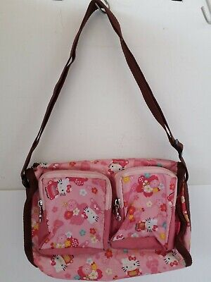 Sanrio HELLO KITTY Shoulder Bag JAPAN KIMONO import Japan Pink KAWAII rare