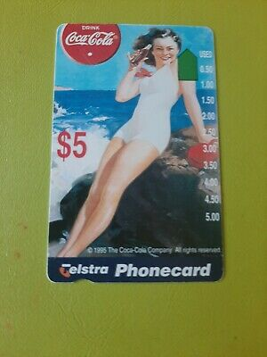 $5 Mint Phonecard  Coca Cola No 6 Prefix 997