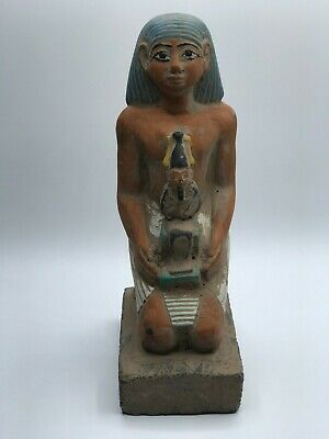 Rare ANCIENT EGYPTIAN STATUE ANTIQUES Horemheb Osiris Gods Sculpture 3150 BC