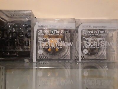 W.H.A.M.!  Ghost in the Shell Tachikoma/ ArmSuit variant figure Lot WAVE