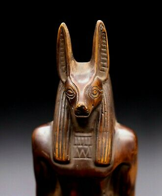 Rare Ancient Egyptian Anubis Egypt Antiques Dog Statue Stone Bc