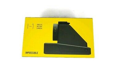 Impossible Project I-1 Analog Instant Camera Black