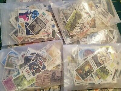 Matt's Stamps 10- to 120-Year-Old Used US Commemorative Stamp Mixture 1/2+ oz