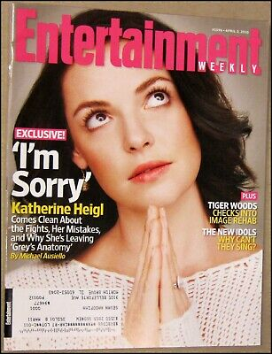 4/2/2010 Entertainment Weekly Katherine Heigl Jennifer Lopez Miley Cyrus Big Ban