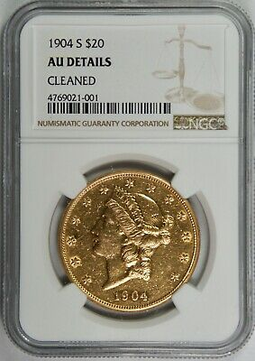 1904-S $20 Gold US Liberty Double Eagle – NGC Certified