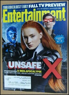 5/27/2016 Entertainment Weekly X-Men Apocalypse Sophie Turner Tye Sheridan Hoult