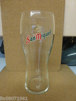 San Miguel  Pint  Glass Used