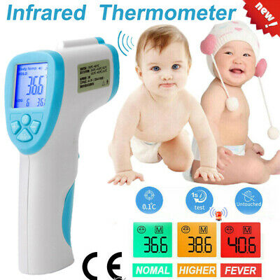 LCD Digital Non-contact Infrared Thermometer Forehead Body Temperature Adult