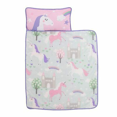 Everything Kids  Unicorn Toddler Nap Mat with Pillow & Blanket - See Details