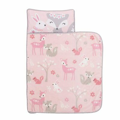 Everything Kids Fox Deer  Toddler Nap Mat with Pillow & Blanket - See Details