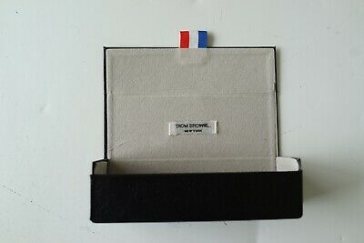 thom brown black leatherette hardshell sunglasses/eyeglasses case…vgc...