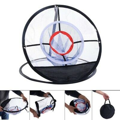 Golf Practice Net Chipping Net  Portable Golf Practice Hitting Aid Training