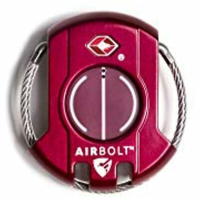 AIRBOLT : The Truly Smart Travel Lock (Monza Red)