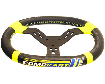 Go Kart Compkart 2020 Flat Top 340mm Steering Wheel Karting Race Racing