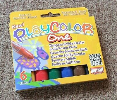 Playcolor Paint Sticks ** Pack of 6 Colours **