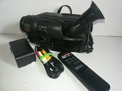 Canon UC8Hi 8mm Video Camcorder With extras - spares and repairs.  Inc manual