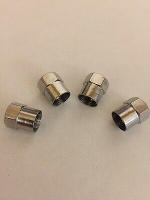 LEAPER Valve Dust Caps SET OF 4   ( Fits Jaguar And other Cars.)