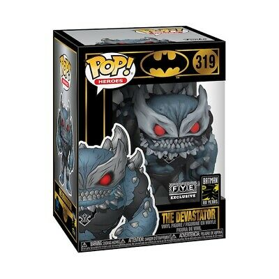Funko Pop! Heroes 319: Batman 80 Years - The Devastator Figure! New! Look! Fye!
