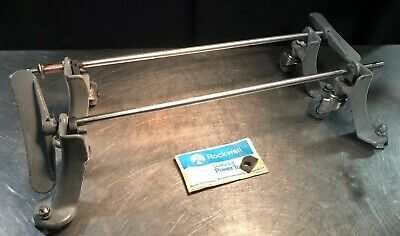 """Delta Rockwell Machinery Retractable Casters Off A Model 34-440 10"""" Table Saw"""