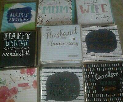 50 Relative Cards,  Wholesale Joblot Greeting Cards