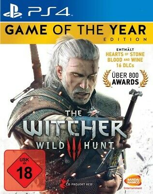 THE WITCHER 3: WILDE JAGD / WILD HUNT - Game Of The Year Edition, deutsch, PS4