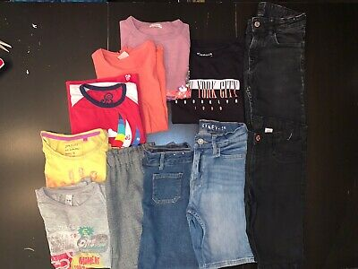 Bundle Of Girls Clothes (12 Items - Mainly Summer) Age 8-10 Years VGC 1