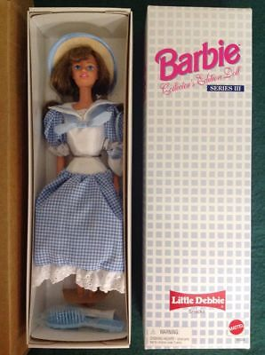 Little Debbie 1997 Barbie Collector's Edition Series 3