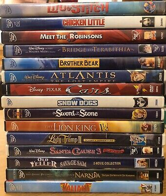 Walt Disney DVD movies EXCELLENT CONDITION
