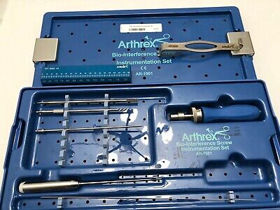 ARTHREX Bio-Interference Surgical Orthopedic Instrumentation Tool Set