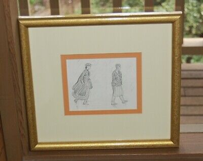 Rare original pencil sketch by Eileen Soper (Enid Blyton's book illustrator).