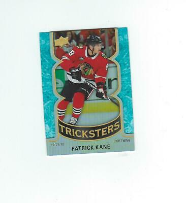 2019-20 Upper Deck Series 2 Tricksters Card #T-17 Patrick Kane