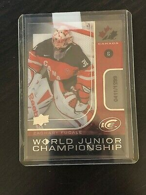 2015-16 Upper Deck UD Ice World Junior Championship Zachary Fucale / 1299