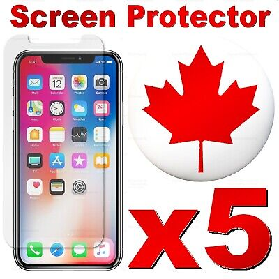 Premium Tempered Glass Screen Protector for iPhone XR XS X 11 Pro Max 8 7 6 Plus