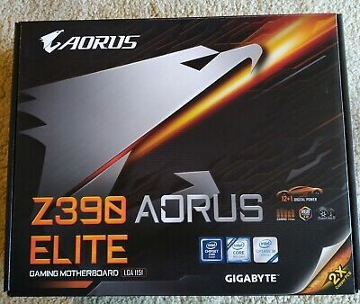(6 months old) Gigabyte 1151 ATX Z390 AORUS Elite DDR4 Gaming Motherboard