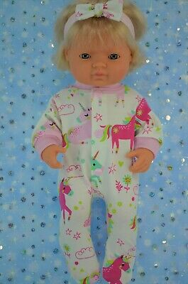 Dolls Clothes For 38cm Miniland Doll PATTERNED STRETCH AND GROW~HEADBAND