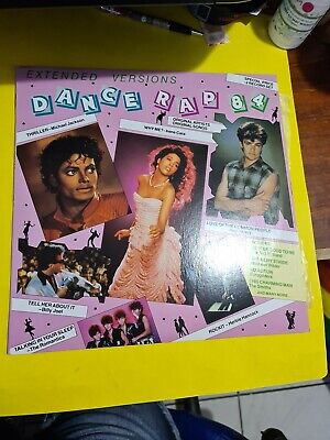 Dance Rap 84🎵 Extended Versions 2LPS - 33 RPM Vinyl LP Record 🎵 FAST POST